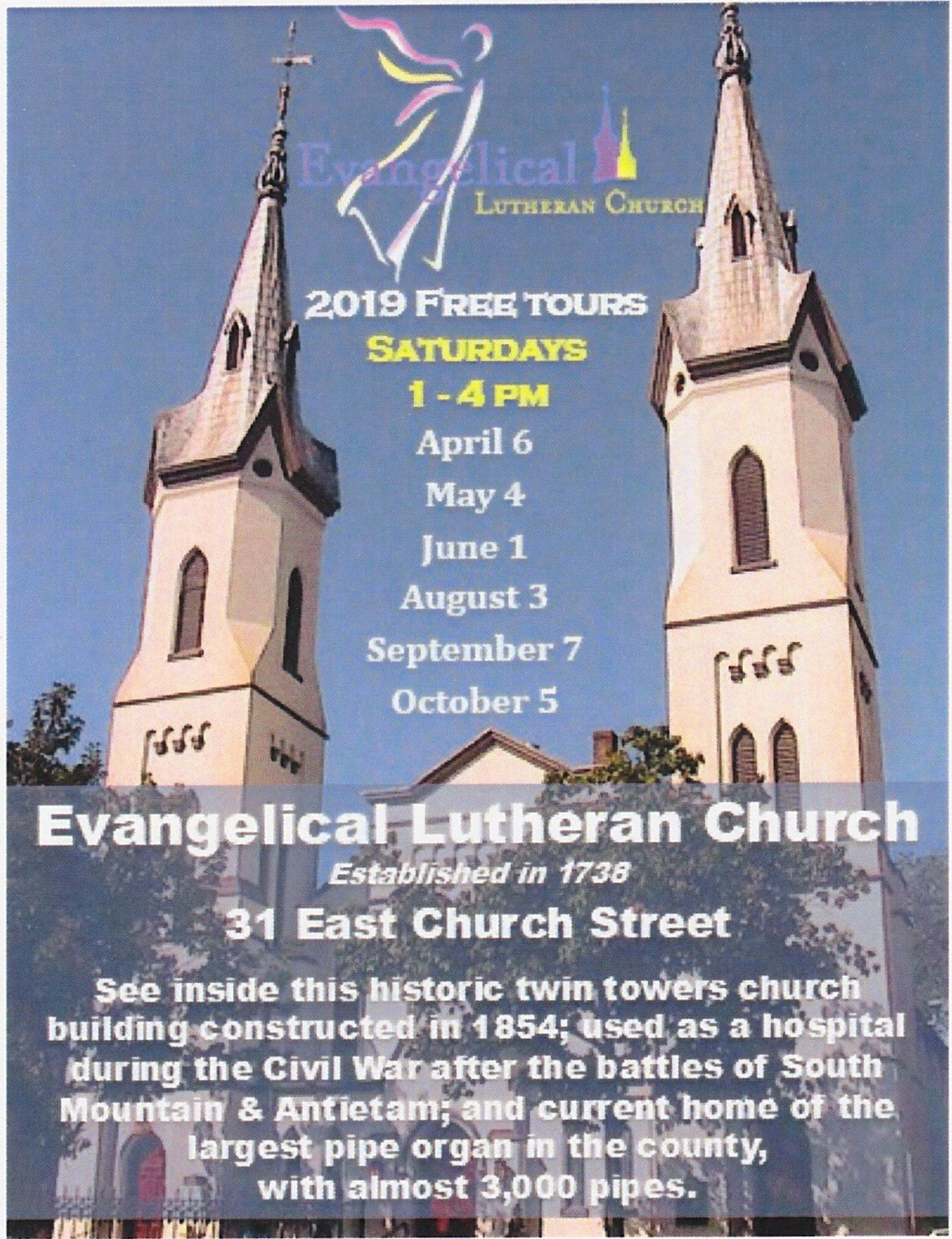 Free Tour of Evangelical Lutheran Church